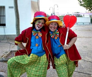 Clowns for kids birthday parties in London for hire