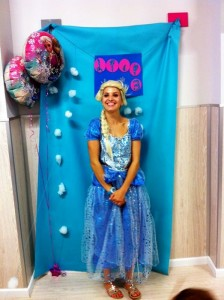 Frozen themed children's parties in london