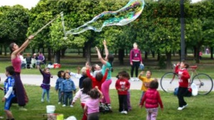 Outdoors Children's Birthday Party in London