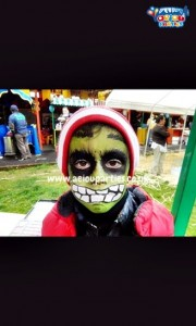 Face painting Halloween
