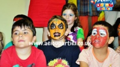 How to do Halloween Face Painting for Kids