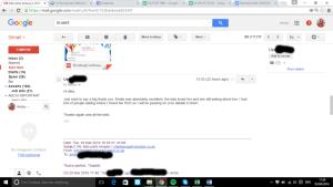 Email Good Reviews AEIOU