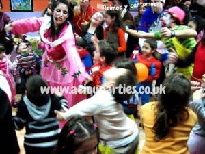 AEIOU Children's Birthday Party Entertainers London