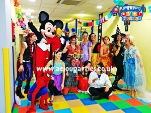 hire kids party venues in london
