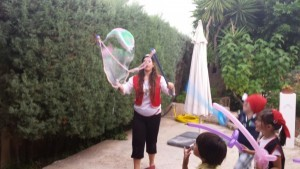 1st birthday parties london bubbles