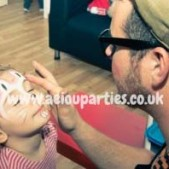 Face Painters Hire Birthdays Parties