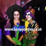 Halloween children entertainers