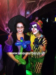 Halloween parties for children in London