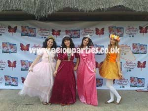 birthday party magician in London princess themed parties