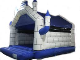 Blue Castle Bouncy 15x17x11