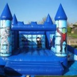 Halloween Bouncy and Slide 15x17x12