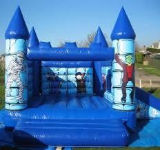 Halloween Bouncy and Slide 15x17x12