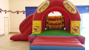 Party Time Slide Bouncy 15x17x10