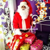 Santa Claus for hire in London