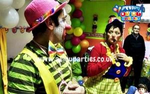 best clown shows kids East London