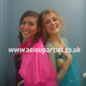 elsa and anna parties