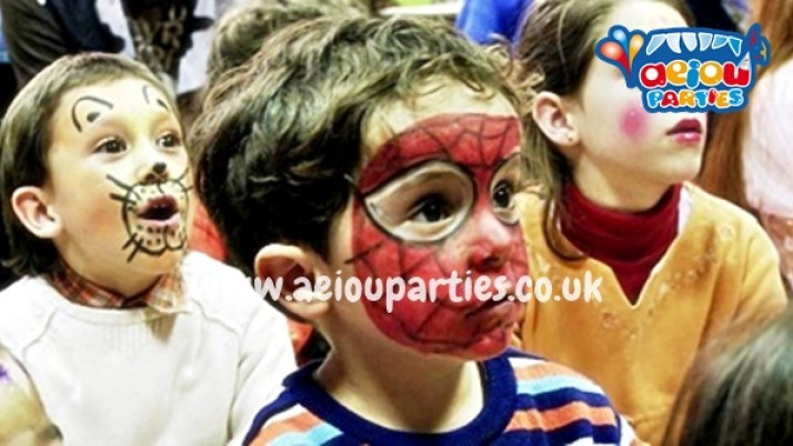Spiderman themed parties for kids in London