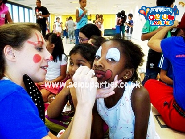 Face Painting Hire London Prices