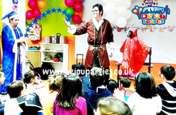 best Magicians and illusionists for kids in London