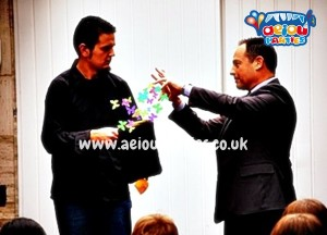 Magician for hire in Manchester