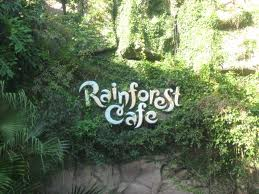 Kids birthday party venues in London rainforest cafe