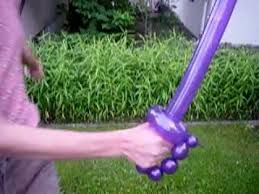beautiful Balloon swords tutorial for kids entertainment