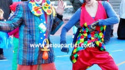 Hire a Clown for kids birthday parties