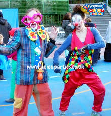 hire clown kids birthday parties
