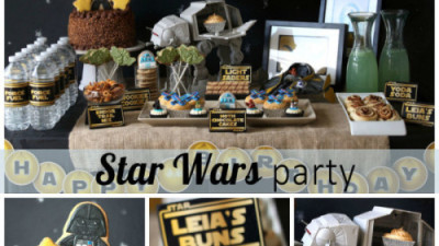 Planning a Star Wars themed party
