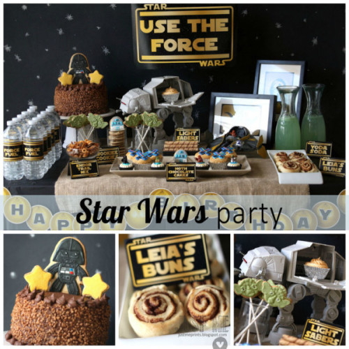 planning a star wars themed party for kids